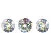Sequins Round 10mm Aprx 450pcs Hologram Silver